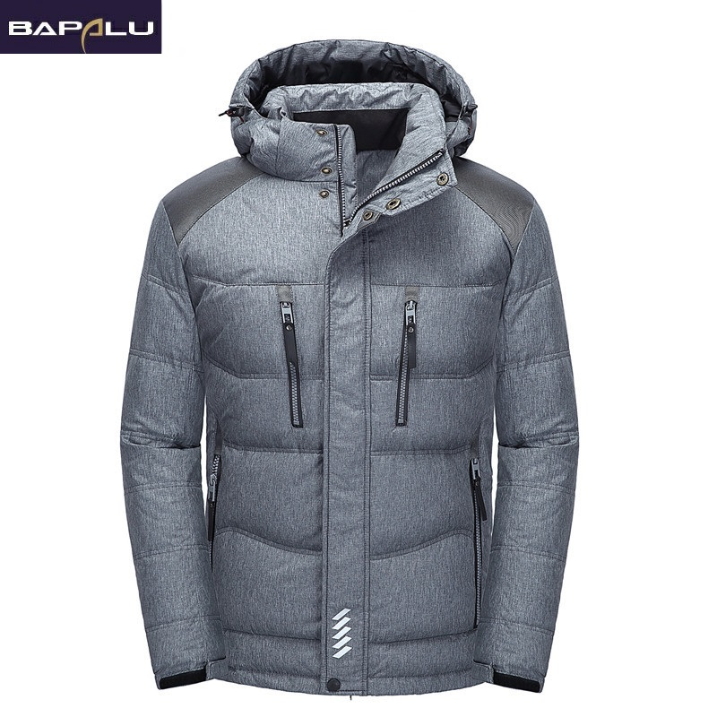 Sa New Mens Casual Jacket Lightweight Autumn Winter White Duck Down Windbreaker Overcoat Parka Warm Coat For Man Casual Clothes Men's Clothing Jackets & Coats