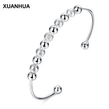 XUANHUA 2017 Jewelry Bracelets & Bangles For Women Simple Popular Openings Bracelet Female Round Beads Simple