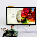 10.1 inch 1366*768 IPS Capacitive Touch Screen Android Raspberry Pi 3 Win10 Linux HDMI VGA AV LCD Kit Module Display Monitor Set