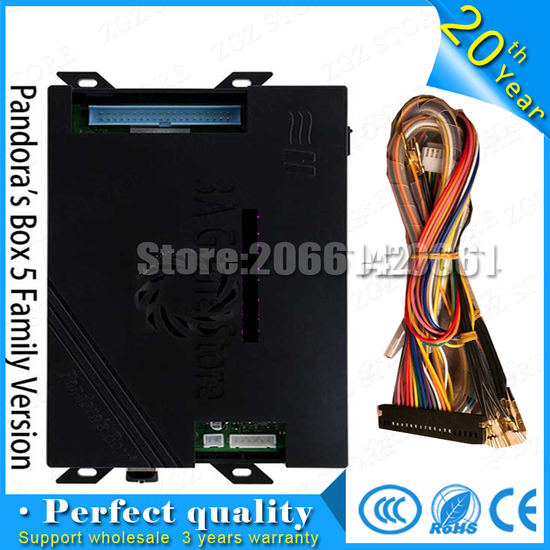 Pandora box 5 960 in 1 Arcade Mutligames Board family version only for VGA/HDMI Board + wires  for consolePandora box 5 960 in 1 Arcade Mutligames Board family version only for VGA/HDMI Board + wires  for console