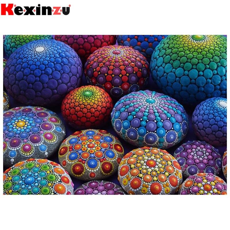 Kexinzu полный квадрат/круглый 5D Diy Алмазная вышивка крестиком