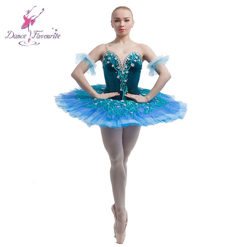 New arrival velvet top bodice professional ballet tutu girl stage performance ballet costume ballerina competition ballet tutu