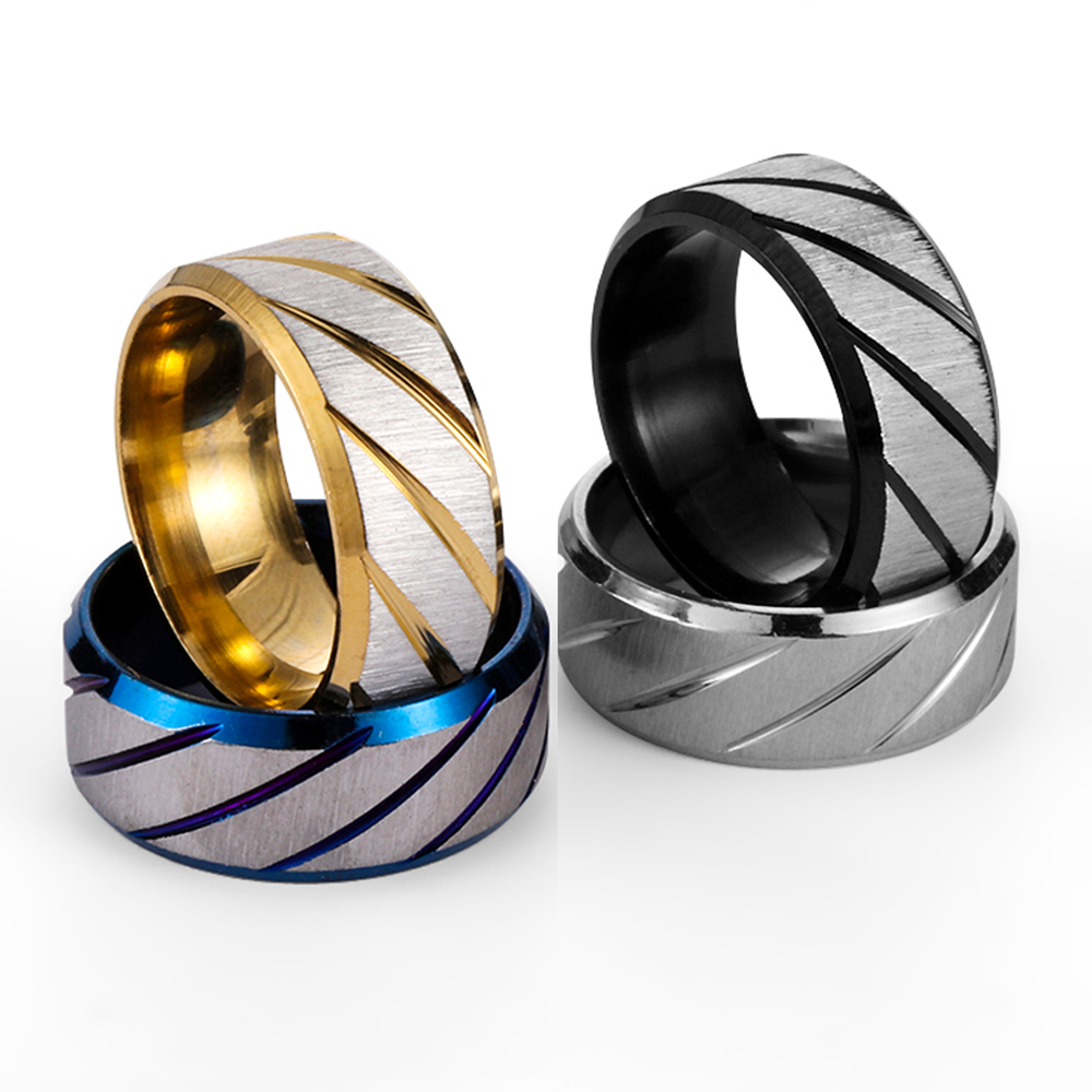 Stainless Steel Healthcare Weight Loss Magnetic Stimulating sWomen Rings Jewelry