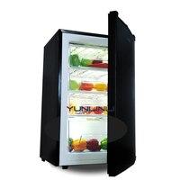102L бытовой/коммерческий небольшой морозильник вертикальный мини холодильник с низким уровнем шума морозильная камера BD 102