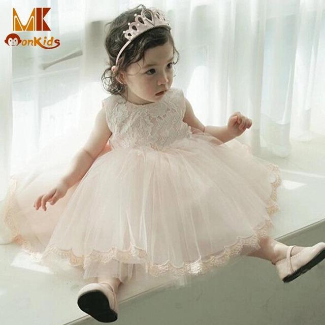 Monkids Bebé Vestidos de La Muchacha Del Niño Del Vestido de Bautizo Niña de Trajes De Navidad de los Bebés Vestidos de Princesa Niños Vestidos Para Niñas