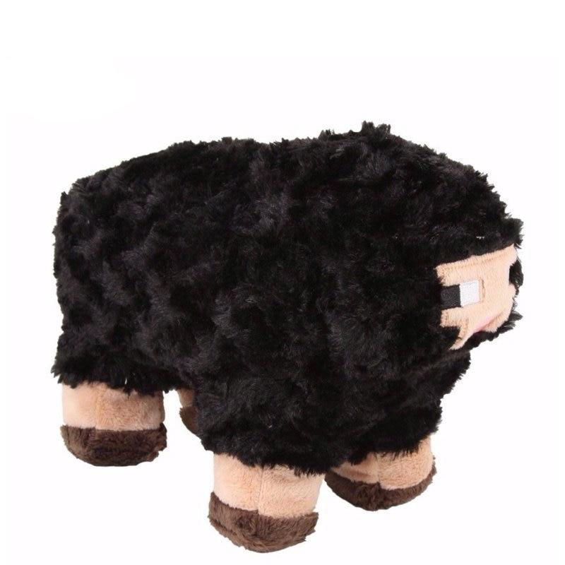New Minecraft Zombie Pigman Black Sheep Plush Stuffed Animal Doll