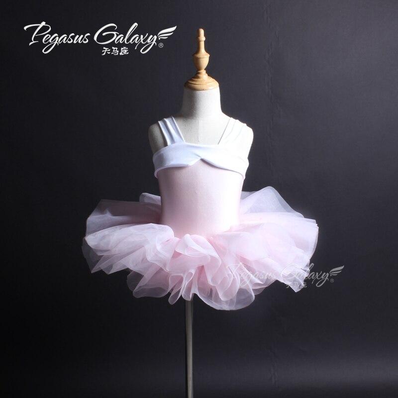 Adults Pink Princess Ballet Tutu Dance Costume For Children Ballerina Kids Dress Stage Performance Ballet Dancewear Clothes Girl