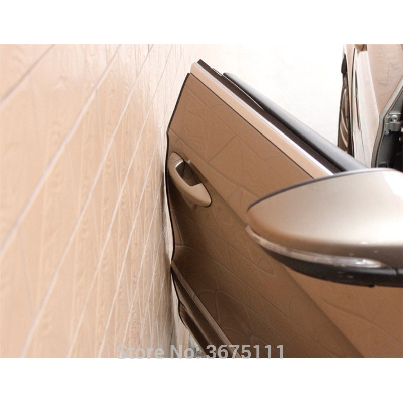 Thick Rubber Car Mats For Volvos40 S60 S80 Xc60 Xc90: 5M Car Door Edge Protection Anti Rubbing Strip Accessories