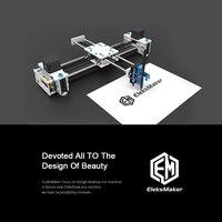 Новое поступление USB DIY XY плоттер рисунок пером робот волочильный рабочего DIY настольный плоттер EleksDraw 100 240 В