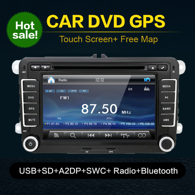 autoradio 2 din car dvd for vw navigation for volkswagen. Black Bedroom Furniture Sets. Home Design Ideas