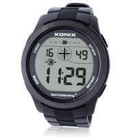 Está quente!! Auto calibrando internet cronometragem esportes dos homens relógios à prova dwaterproof água 100m relógio digital natação mergulho relógio de pulso montre homme