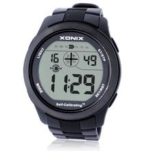Sıcak!!! Kendinden kalibrasyon Internet zamanlama erkekler spor saatler su geçirmez 100m dijital saat yüzme dalış kol saati Montre Homme