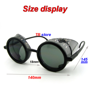 Image 5 - 12235 protective glasses Windproof dust proof Shockproof safety goggles Collapsible Avant garde fashion Cycling goggles