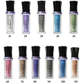 Women Fashion Makeup Glitter Eyeshadow Rollers Pigment Loose Powder Eye Shadow