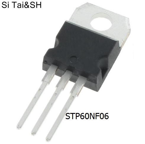 10pcs/lot STP60NF06 <font><b>P60NF06</b></font> TO-220 transistor original authentic image