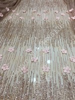 High Grade Handmade Decals In Africa Plus Pearl Very Luxurious Wedding Dress Fabric Purple Gold Silver