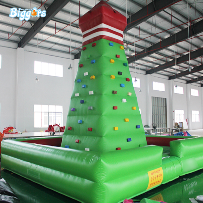 High Quality Climbing Wall Inflatable Rock Climbing Wall Inflatable Sport Game For Outdoor Activity inflatable biggors high quality inflatable climbing town kids toy climbing wall games for rental