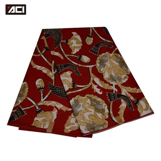 ACI Free Shipping ! Best Selling Ankara African Wax Print Fabric,Dutch Wax Fabric African Real Wax Prints Fabric Hollandais Wax 3