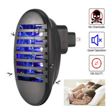 LED Mosquito Killer Lamp EU/US Plug 110V-240V Anti Wasp Pest Insect Fly Zapper Inhaler Electric Trap Light Portable USB Light цена в Москве и Питере