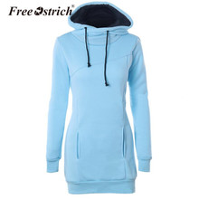Free Ostrich Warm Women Hoodies Sweatshirts