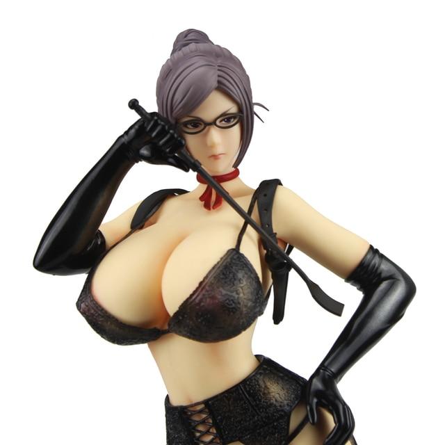 41cm Sexy Kangoku Gakuen Prison School Anime Shiraki Meiko Underware Cast Off PVC Action Figure Model Doll Toys Gift 4