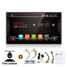 Electrónica del coche de 2 Din Sin Reproductor de DVD de Vídeo Estéreo Android GPS Auto RDS 7 Pulgadas USB Para Cámara Universal Nissan Envío Libre mapa