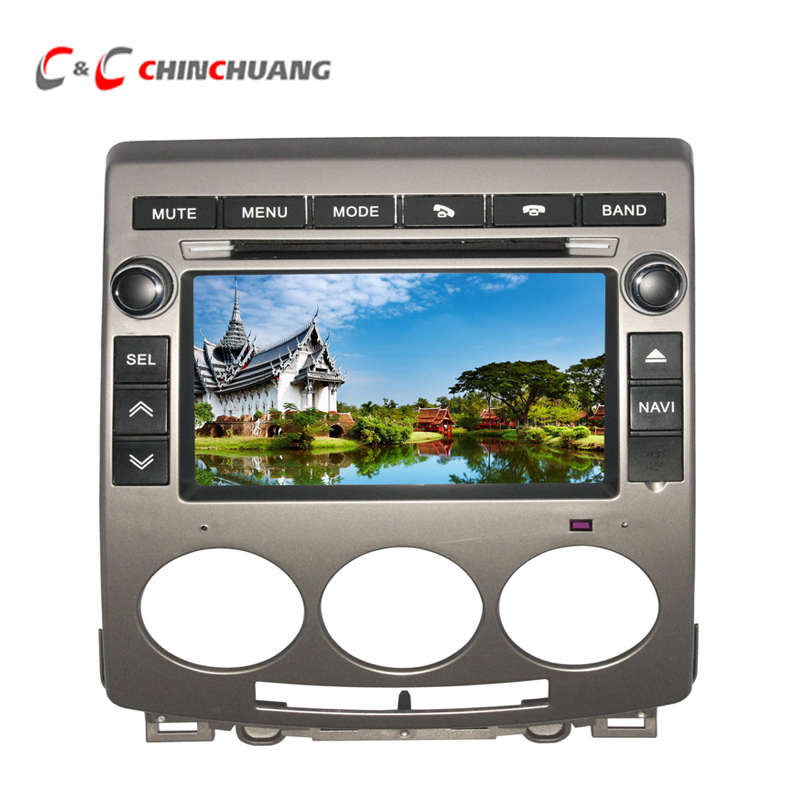 2018 New Real Car DVD Radio Player for Mazda 5 with Audio Video System GPS Navigation SWC Bluetooth USB SD Stereo Head Unit !