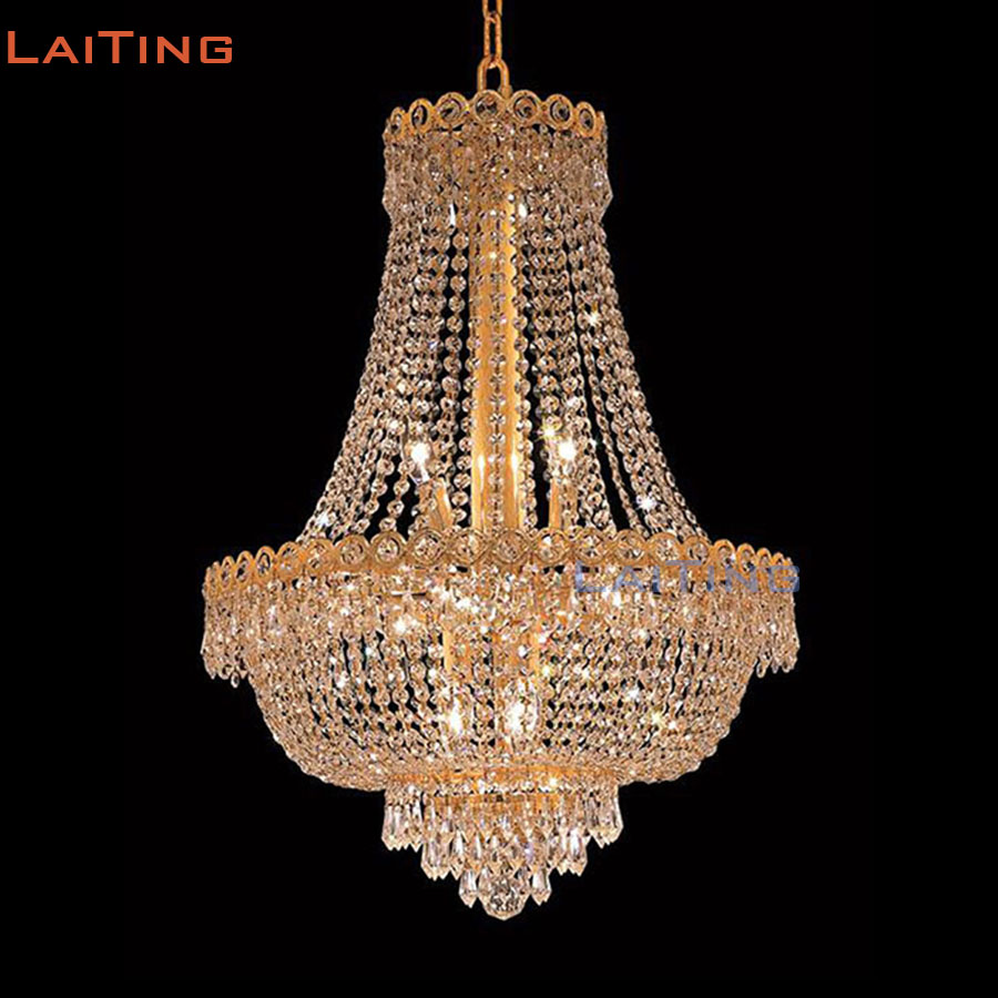 Laiting dia 60cm classic gold vintage retro luxury crystal laiting dia 60cm classic gold vintage retro luxury crystal chandeliers italian hanging dining room lamp lt 71013 in chandeliers from lights lighting on aloadofball Images