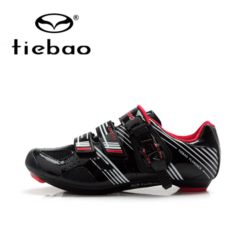 Tiebao Bicycle Shoes Breathable Outdoor Athletic Racing Road Cycling Shoes Self-Locking Bike Shoes zapatillas ciclismo sidebike mens road cycling shoes breathable road bicycle bike shoes black green 4 color self locking zapatillas ciclismo 2016