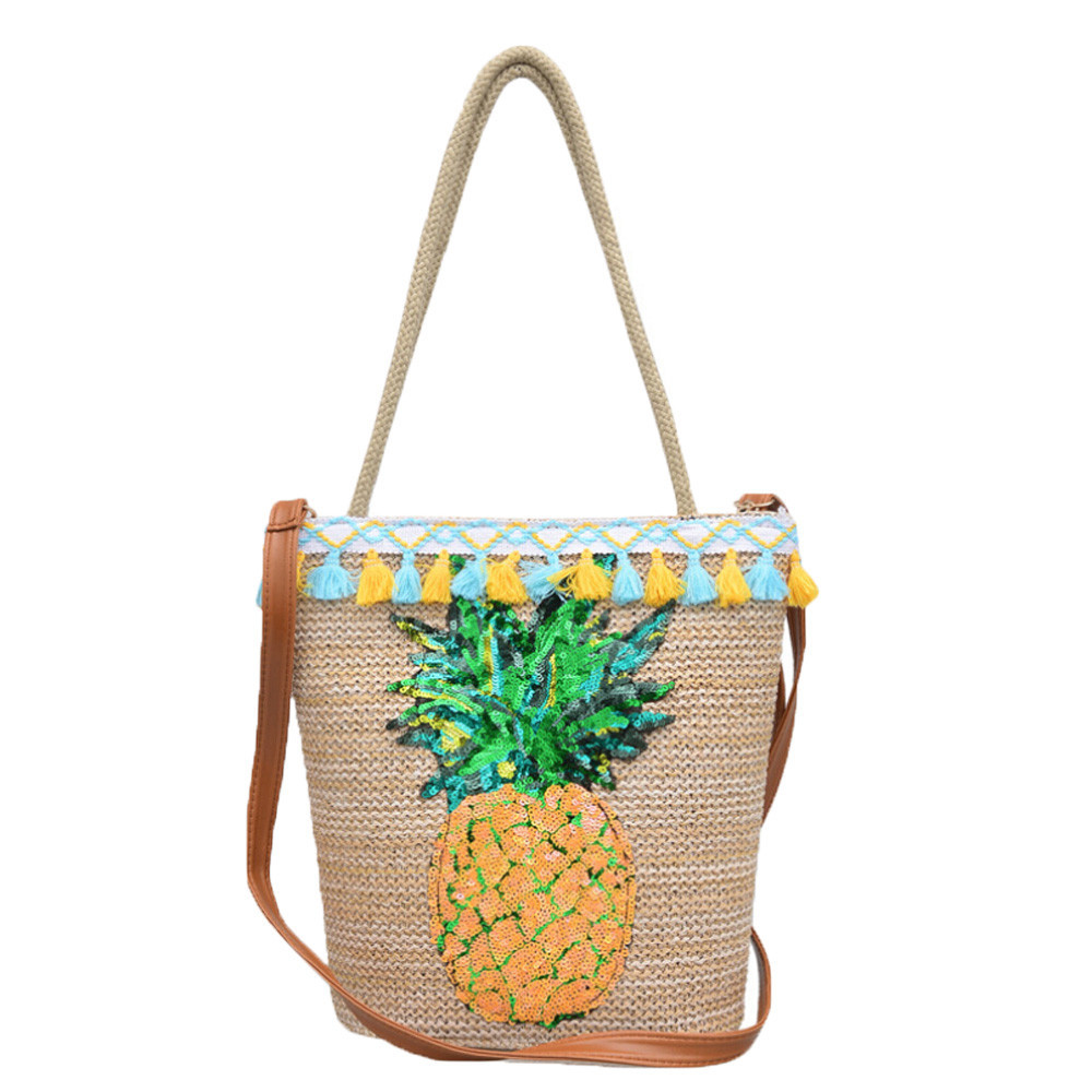 Women's Handbags Bags Printed Canvas Tote Bohemian Style Shoulder Bags Canvas A8