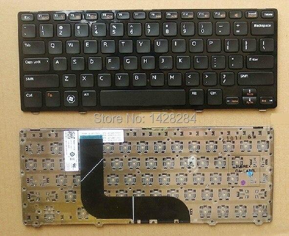 laptop US black Keyboard For DELL Inspiron N411Z 5423 14z-5423 14Z 3360 1618l 13Z-5323 5323 Vostro V3360
