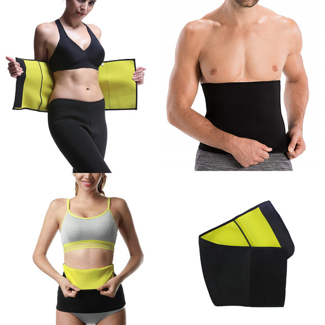 Unisex Waist Trainer Belt Body Shapers Slimming Belts Neoprene Sweat Sauna Cincher Girdle Loss Weight Corset Modeling Strap