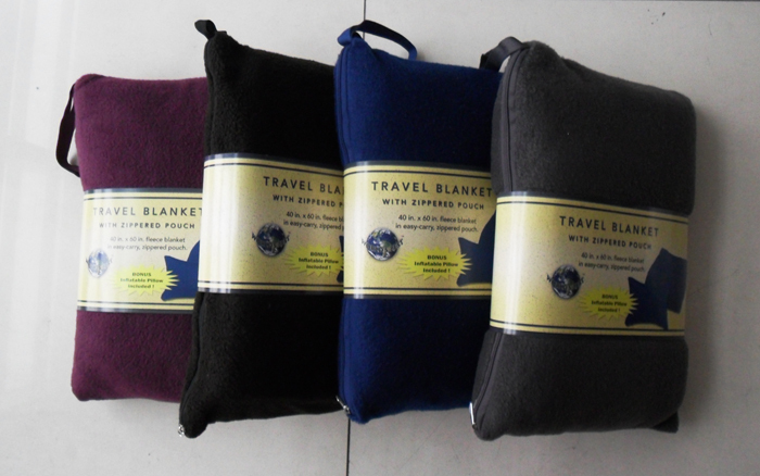 Blanket Bag Set Sierran Blanket Winter Blanket Travel Blanket Pvc