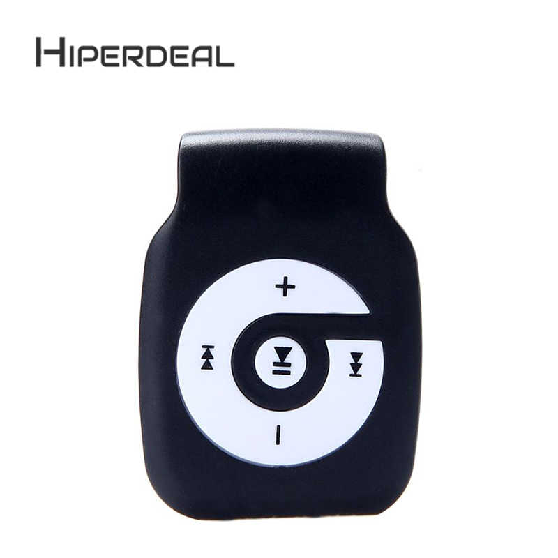 HIPERDEAL New Fashion Mini Clip light USB MP3 Player Support Micro SD TF  Card Media TF Card Slick Stylish Design #3N