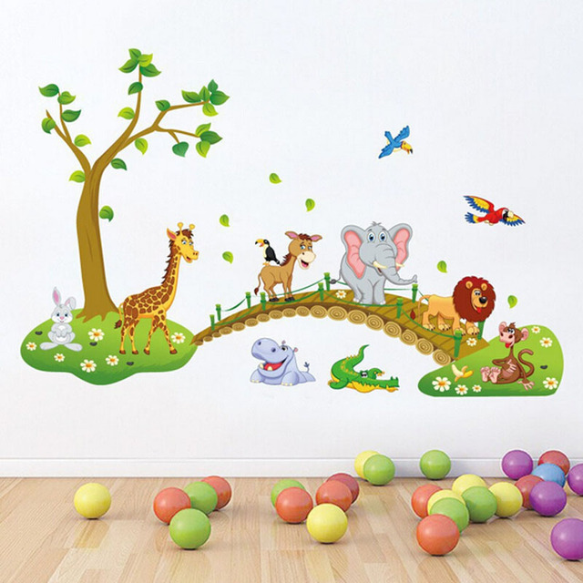 wall sticker for baby bedroom home decoration accessories for kids rh aliexpress com Little Mermaid Wall Stickers Stickers Decoration for Projects