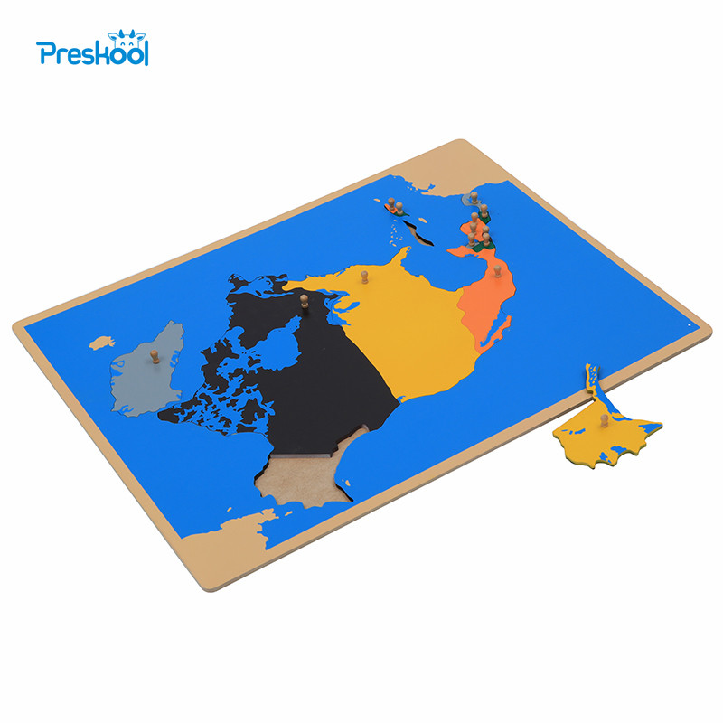 Montessori Toy North America Map Learning Education Early Childhood Kids Brinquedos Juguetes learning carpets us map carpet lc 201