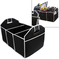 Collapsible Car Trunk Organizer Truck Cargo Portable Tools Folding Storage Bag Case Space Saving Auto Boot