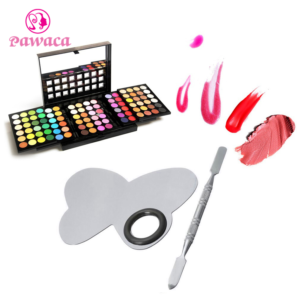 Online color mixer tool - Pawaca Professional Beauty Make Up Stainless Steel Palette Spatula For Nail Eye Shadow Mixing Color Make