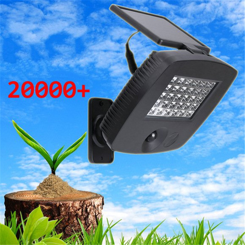 Outdoor Garden 30led LED Solar Infrared Sensor Wall Lights Body Sensors Waterproof Outdoor Street Floodlights Emergency Lighting