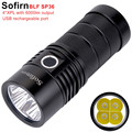 Sofirn BLF SP36 4 * XPL2 6000LM мощный светодиодный фонарик USB Перезаряжаемые 18650 несколько Управление супер яркий фонарь narsilm V1.2