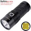 Sofirn BLF SP36 4 * XPL2 6000LM potente linterna LED USB recargable 18650 multifunción Super brillante antorcha Narsilm V1.2
