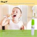 CkeyiN Baby Дети Дети Электрическая Зубная Щетка Умный Sonic Отбеливание Зубов Зубная Щетка С Светодиодные Батарейках Стоматологической Помощи
