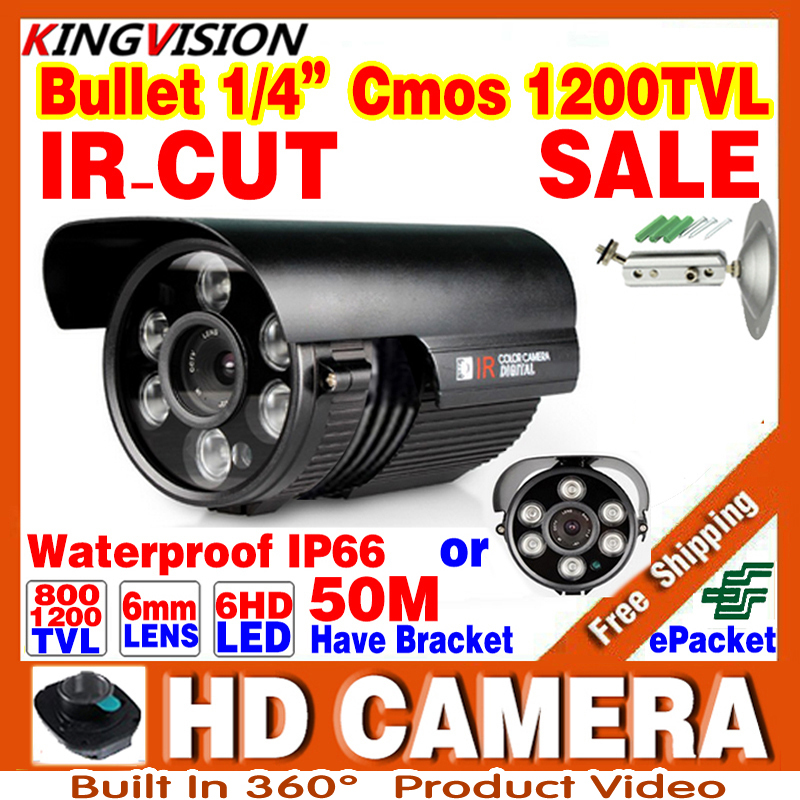 1200TVL CCTV Camera With 1/3cmos 800TVL Sensor HD Outdoor Bullet Waterproof IR-CUT IR Led Mini Surveillance Security adhl Camer cctv waterproof outdoor poe camera cmos 1 3mp 960p bullet 2 8 3 6mm fixed lens video camera security surveillance ir cut