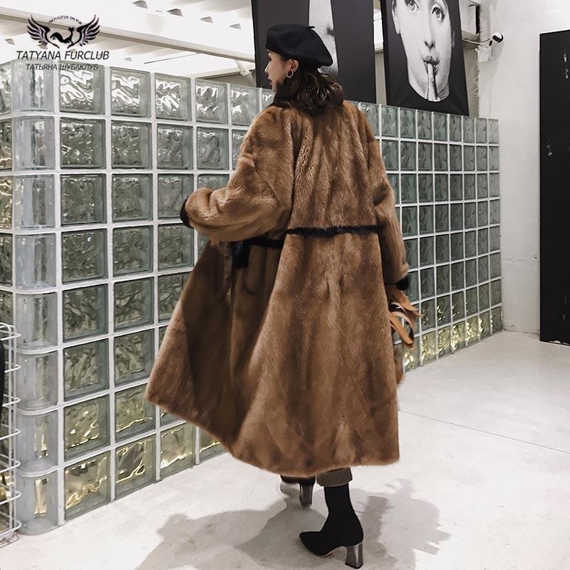 Plafonné Peau Femmes Color Fourrure Vison La D'hiver Véritable Vente Plus Chaud Taille Naturel Tatyana Natural Importé Toute Import De Manteaux Chaude Veste wA1UqYF