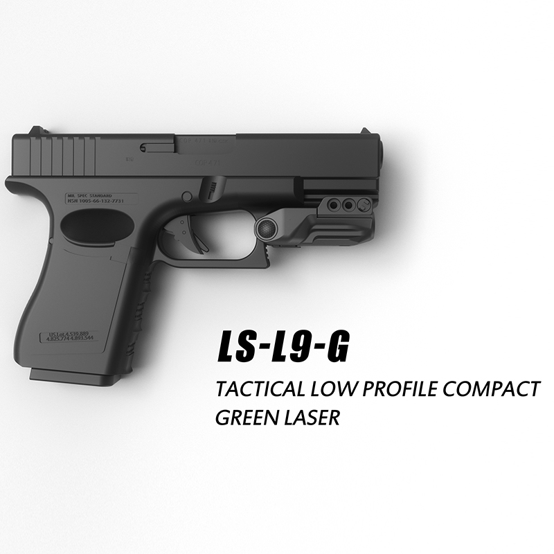 Laserspeed Drop Shipping Subcompact Green Dot Laser Sight Pistol For Glock Springfield Handgun Laser Sight-5