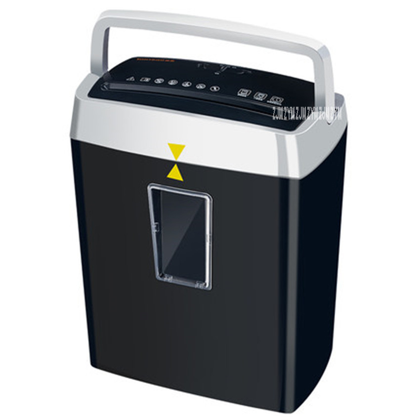 Paper Shredder Office Electric C560-B Mute Pulverizer Mini Household Shredder ABS Material Continuous Paper Breaking 4-6 Minutes usb 4 aa powered mini paper shredder with letter opener