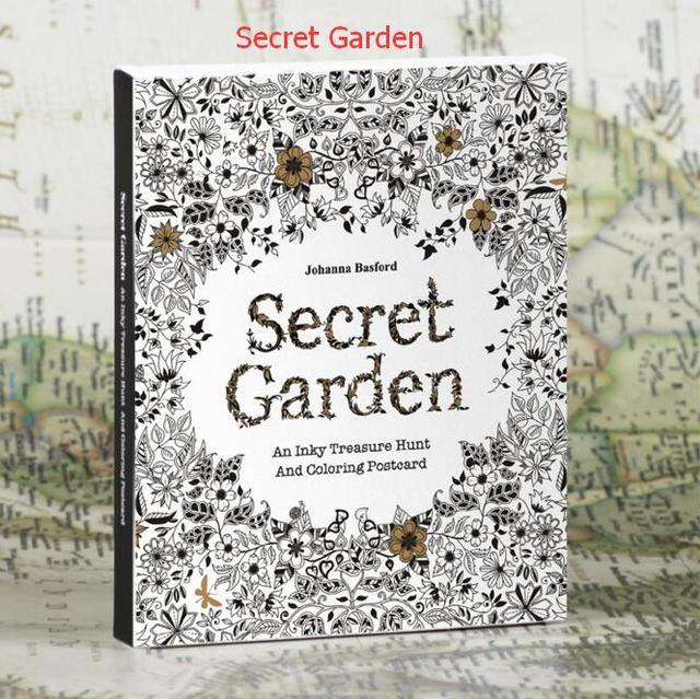 30 van de engels versie van de geheime tuin grote kleur for De geheime tuin boek