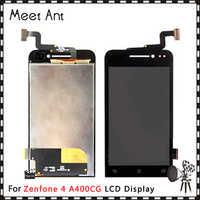 10 unids/lote de alta calidad 4,0 ''para Asus Zenfone 4 A400CG pantalla LCD con montaje de digitalizador con pantalla táctil