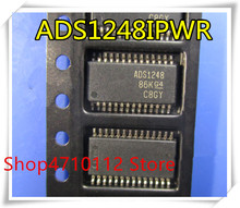 NEW 10PCS/LOT ADS1248IPWR ADS1248IPW ADS1248 TSSOP-28  IC