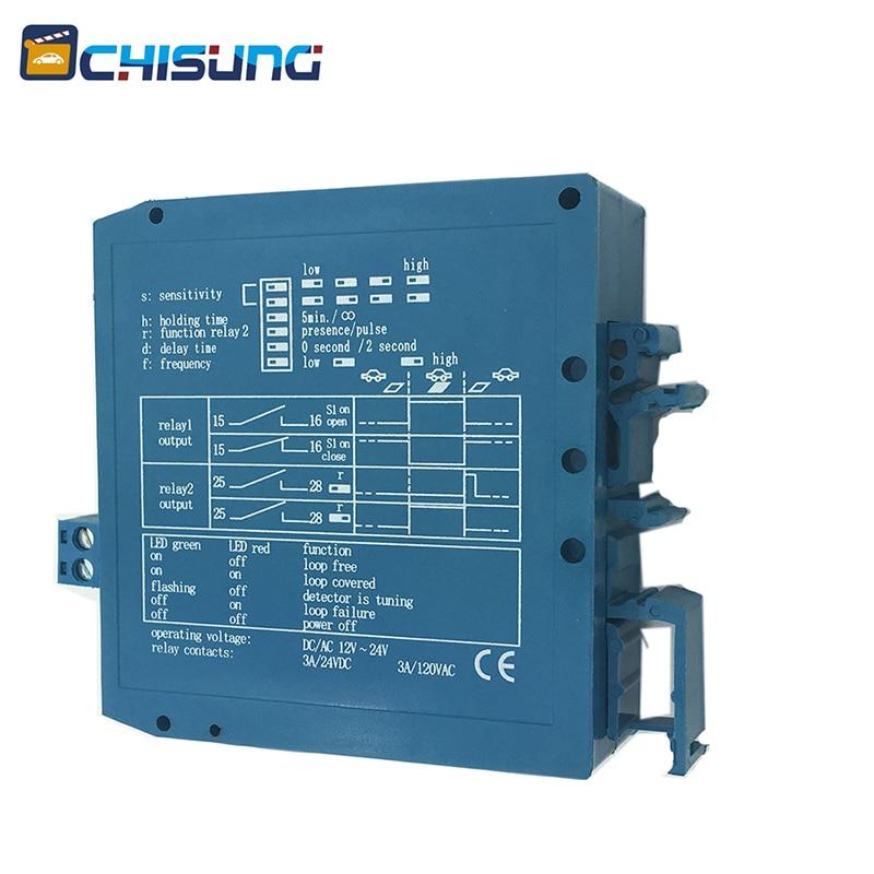 Access Control Magnetic Sensor/safety Loop Detectors For Gate Barrier/Swing Gate Motor